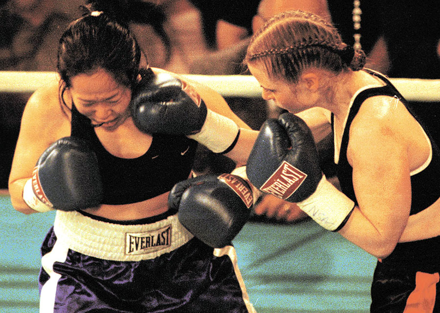Womens Boxing: Gallery...